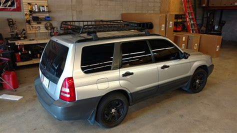 subaru forester roof rack subaru forester rack installation photos
