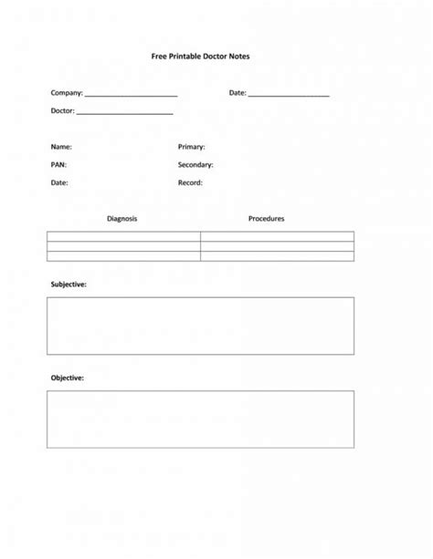 42 Fake Doctor's Note Templates for School & Work