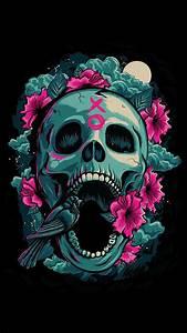Sugar Skull Wallpaper for iPhone (62+ images)