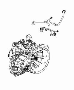 2015 Dodge Journey Wiring  Transmission  Export