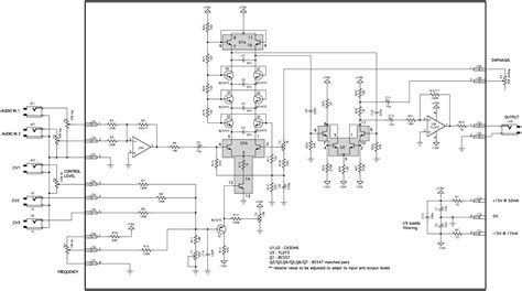Ultimate Eq Eq Wiring Diagram by Yusynth Minimoog Transistor Ladder Vcf Module Bare Pcb