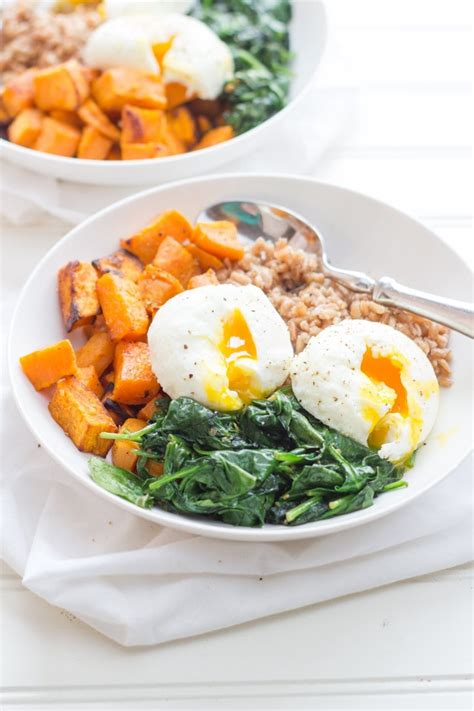 curried sweet potato breakfast bowls wholefully