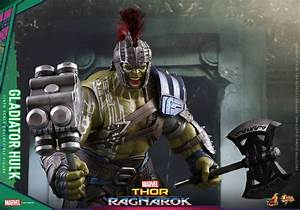 Hot Toys Hulk and Thor 1/6 Scale Figures from Thor ...