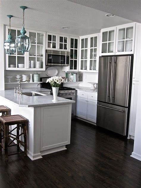 kitchen floor ideas with white cabinets kitchen white cabinets dark hardwood floors white gray