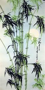 Green Bamboo - Chinese bamboo painting