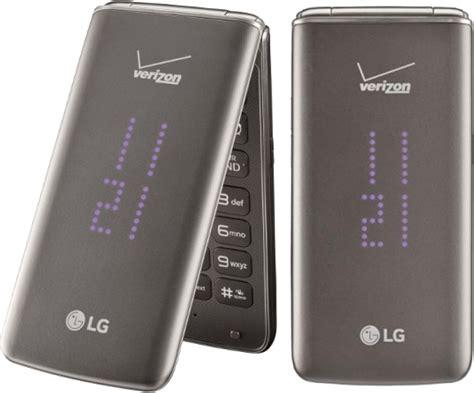 lg exalt ii vn flip phone  verizon wireless black