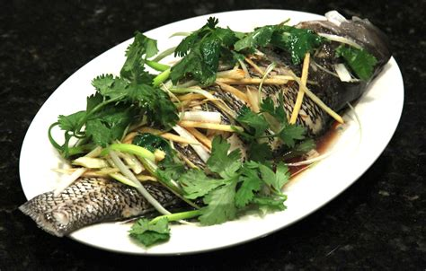 steamed fish chinese healthy cooking