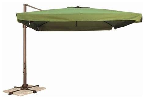 wanda portofino aluminum 10x10 square offset umbrella