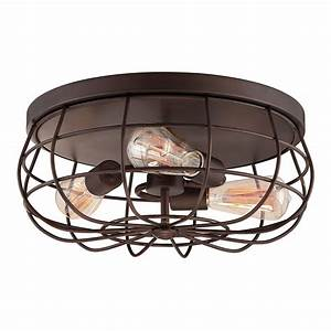 Millennium lighting 5323 neo industrial flush mount for Industrial flush mount lighting