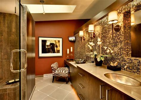 under towel rack 16 gold tile bathroom designs decorating ideas design