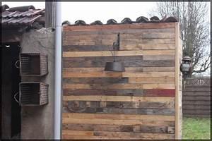 Mur En Pisé : bardage d 39 un mur en pis partie 1 instructions ~ Melissatoandfro.com Idées de Décoration