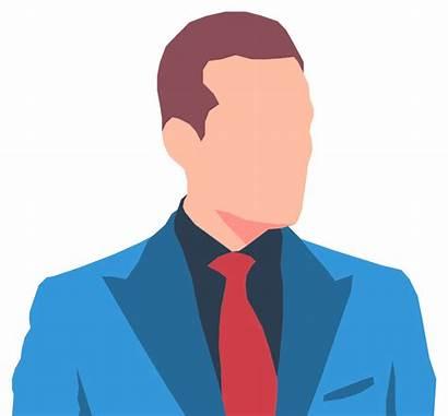 Avatar Male Faceless Suit Clip Onlinelabels Svg