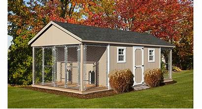 Kennel Box Dog 12x24 Kennels Outdoor Traditional