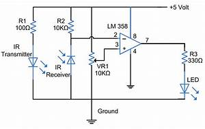 help simple sensor switch project element14 projects With infrared circuits