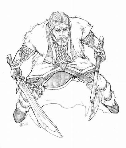 Coloring Hobbit Pages Thorin Oakenshield Sheets Adult
