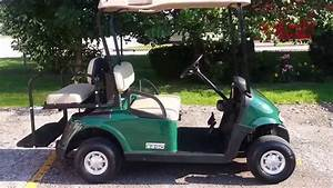 Gas Ezgo Rxv With 13hp 400cc Kawasaki Engine  Rear Flip