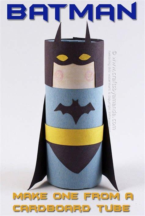 cardboard tube batman  amanda formaro  crafts