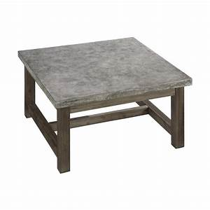 shop home styles concrete chic 36 in w x 36 in l square With 36 x 36 square coffee table