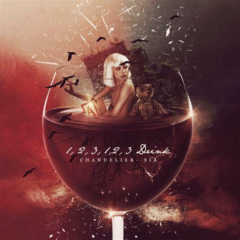 Chandelier Sia Album by Chandelier Sia Album Cover Fanart On Behance
