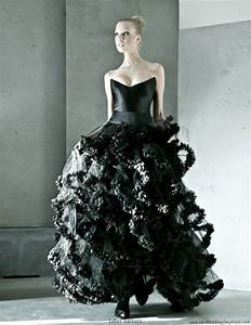 designer black wedding dresses for elegant and With black gowns for wedding