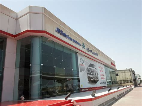 Toyota Al by Al Futtaim Motors Company Toyota Showroom Car Showrooms