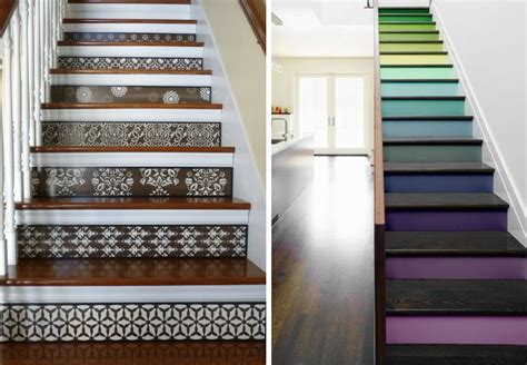 Stickers Pour Contremarche Escalier by 20 Amazing Makeover Ideas For The Stairs Bnbstaging Le Blog
