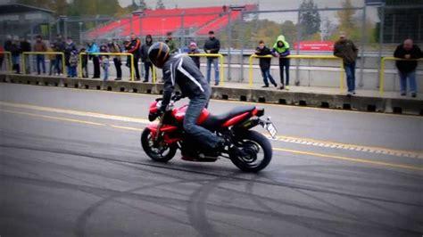 Motorcycle Drifting Burnout
