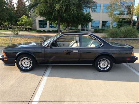 Purchase Used Bmw L6 Very Rare Version Of The 635csi In