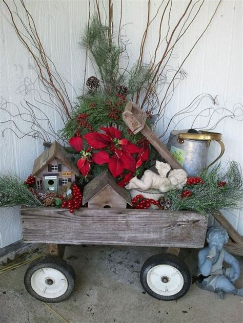 Yard Decorations by 40 Comfy Rustic Outdoor D 233 Cor Ideas Digsdigs