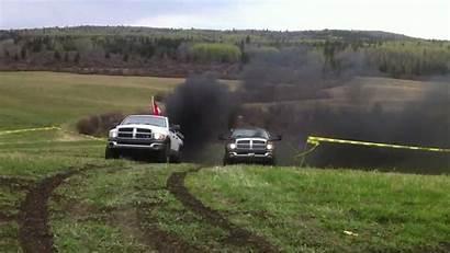 Coal Cummins Dodge Rollin Lifted Stacks 2004