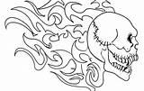 Death Coloring Skull Roses Sky Coloringsky Sheet sketch template
