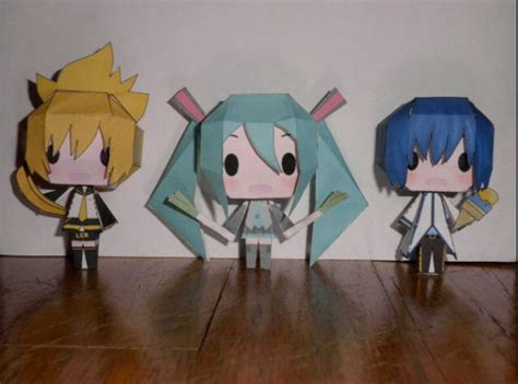kaito and origami on pinterest