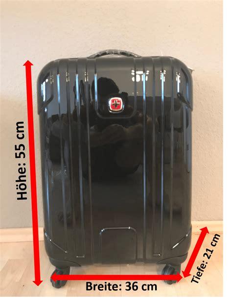 handgepäck koffer maße handgep 228 ck koffer test wenger evo lite 55 reisekoffer