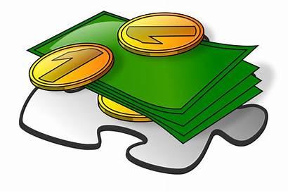 Cash Clipart Dollar Template Svg Blank Clip