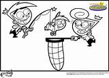 Fairly Pages Coloring Odd Parents Printable Oddparents Pbs Squad Characters Cosmo Template Wanda Colors Timmy Getcoloringpages sketch template