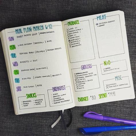 bullet journal ideas  great layouts