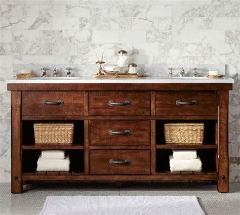 rustic double sink vanity 33 stunning rustic bathroom vanity ideas remodeling expense