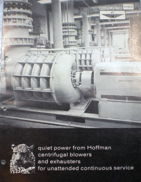 hoffman air systems blowers exhausters asbestos  ebay