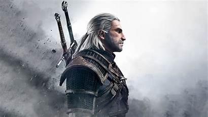 Witcher Geralt Profile Wild Hunt Wallpapers