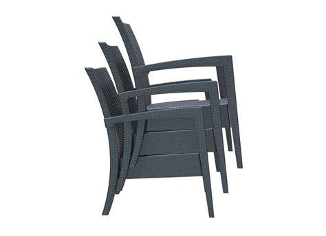 chaise de jardin en résine tressée chaise de jardin resine tressee salon de jardin bas en bois reference maison