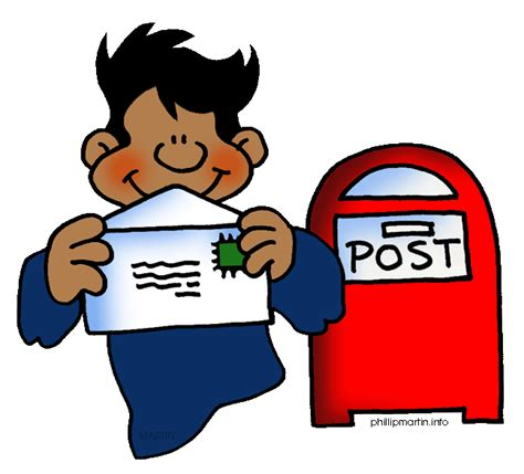 send a letter send a letter clipart