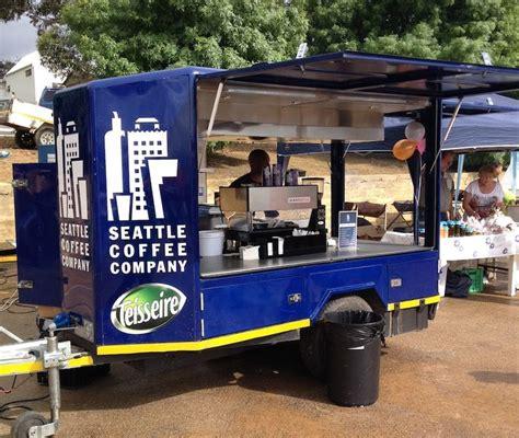 Mobile coffee cart businesses are quite fun and adventurous. Mobile Coffee - The Seattle Coffee Co's Mobile trailer ...