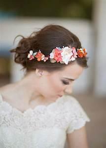 Wedding Hair Headband With Flower