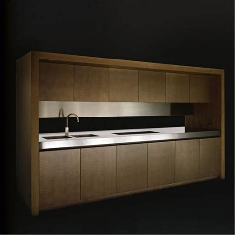 Kitchen Cabinet Ls by Modern Kitchen With Microwave Integrated And Built In