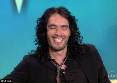 russell brand just say yes russell brand s advice on being a good groom is to not