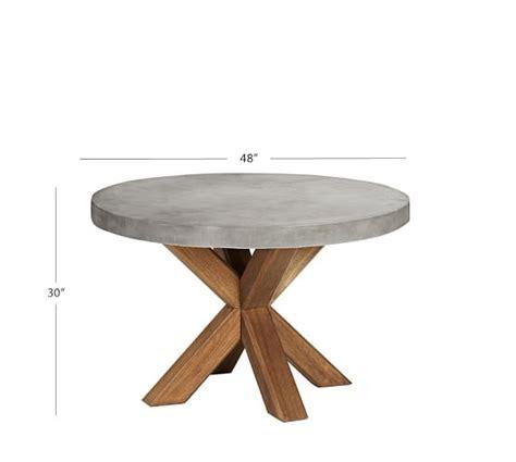 pottery barn kirkwood dining table abbott round dining table pottery barn