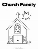 Church Coloring Pages Simple Drawing Elevator Going Alphabet Printable Families Finland Colouring Truth Advent Fear Getcolorings Belt Popular sketch template