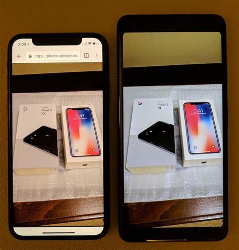 pixel 2 xl vs iphone x ecco chi ha il miglior display oled screen mercato