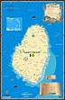 St. Vincent | Island Map Publishing