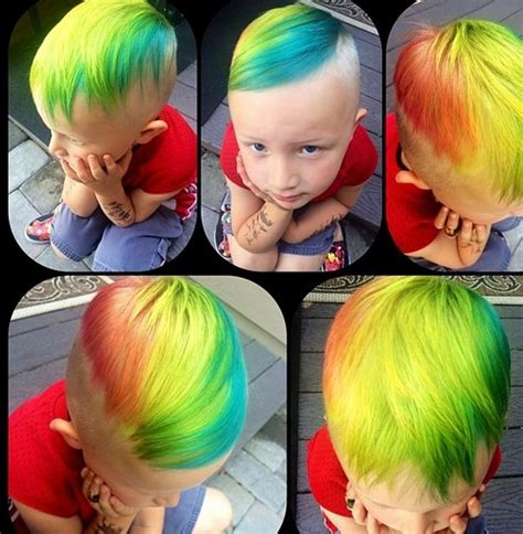 New 2016 Mens Hairstyle Trend Crazy Hair Coloring